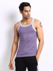 Zoiro Men Purple Innerwear Vest Urbano 33