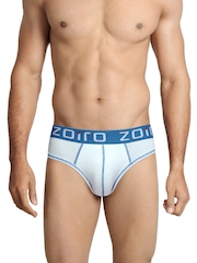 Zoiro Men White Briefs Lorenzo11