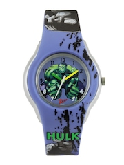 Zoop Boys Blue Printed Dial Watch