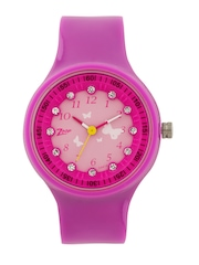 Zoop Girls Pink Dial Watch