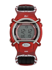 Zoop Boys Black Digital Watch
