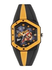 Zoop Kids Black & Grey Iron Man Printed Dial Watch NDC3036PP06J