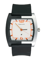 Fastrack Unisex White Casual Watch