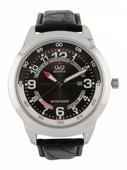 Q&Q Men Black Watch