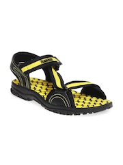 Reebok Men Black Coalition Sandals