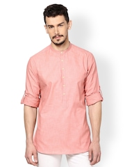 Even Men Pink Kurta