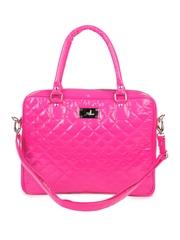 Yelloe Pink Laptop Pocket Handbag