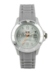 ice watch Unisex Silver Toned Dial Watch