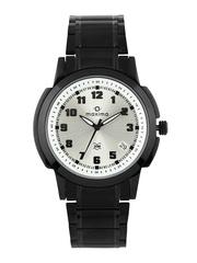 Maxima Attivo Men Silver Toned Dial Watch