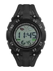 Maxima Men Black Digital Watch