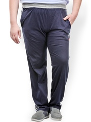 plusS Men Navy Track Pants