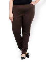 plusS Women Brown Churidar Leggings