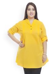 plusS Women Yellow Tunic