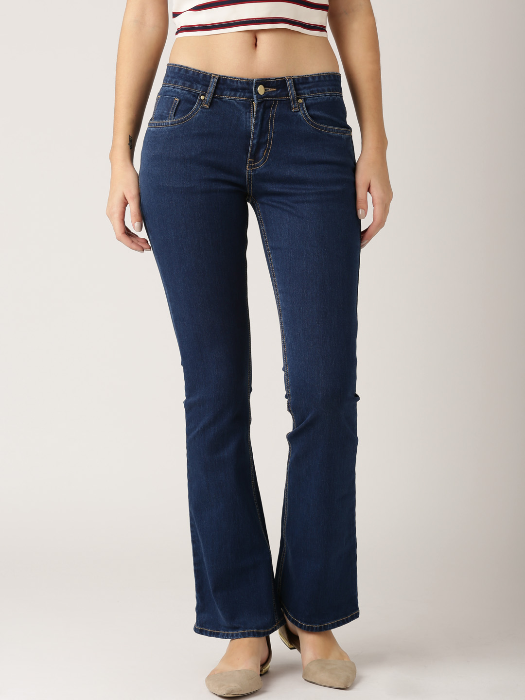 buy bootcut jeans online india
