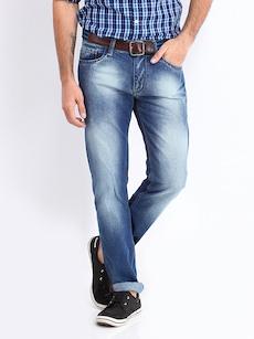 Roadster Men Blue Camaro Skinny Fit Jeans