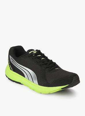 Buy Puma Descendant V2 Idp Black Running Shoes Online