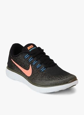 super popular e5c53 f694d hot buy nike free rn distance black running shoes online 5546188 jabong  b6aec 958a3