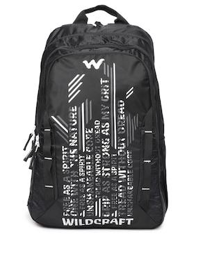 e32757d8d6cc Buy Wildcraft Black Graphic Backpack Online - 8644799 - Jabong
