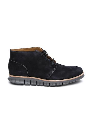 buy cole haan black zerogrand suede casual shoes