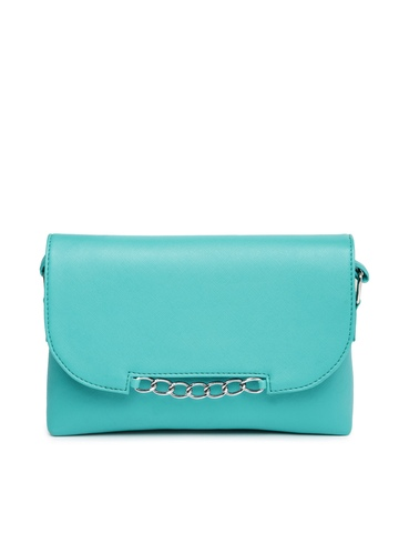 Buy DressBerry Sea Green Sling Bag - Handbags for Women | Myntra