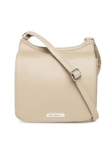 Buy Mast & Harbour Beige Sling Bag - Handbags for Women | Myntra