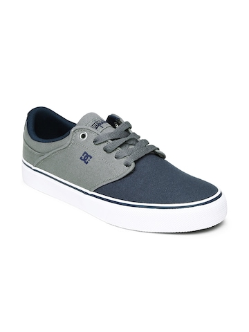 buy dc navy grey mikey casual shoes 632