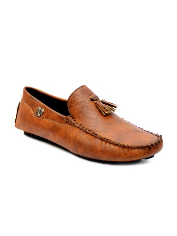 Prolific Men Tan Brown Casual Shoes