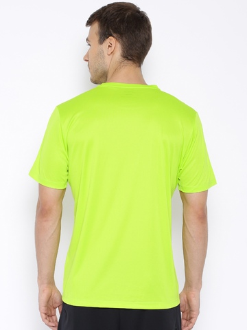 asics t shirt Green