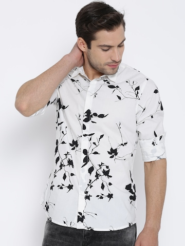 White Printed Shirts | Artee Shirt