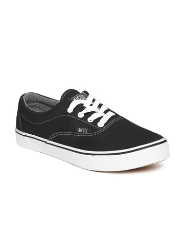 buy alcott black canvas sneakers footwear for