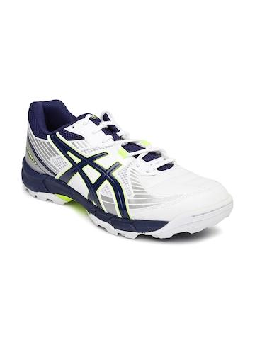 Asics Men White Gel Speed Menace Left Foot Cricket Shoe