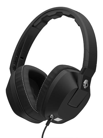 Skullcandy Black Crusher Headphones with Mic