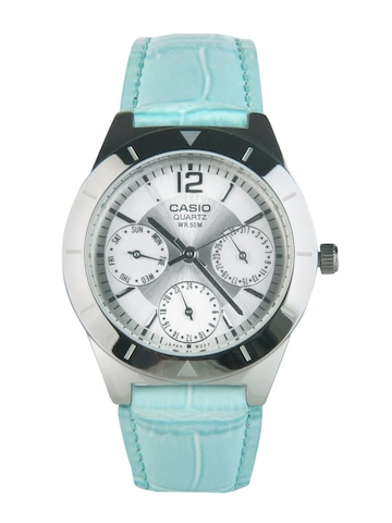 Casio Women Analog Steel Watch SH62