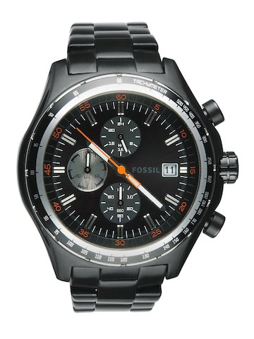 Fossil Men Black Dial Chronograph Watch CH2754