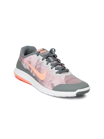 d30f572fb8c Nike Women Grey Flex Experience RN 4 Running Shoes available at Myntra for  Rs.3051