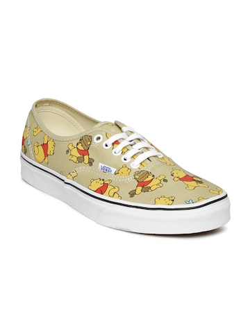 47353046e07c79 Vans Disney Unisex Brown Printed Casual Shoes available at Myntra for  Rs.1599