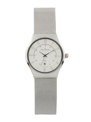 SKAGEN DENMARK Men White Dial Watch 233XLSS