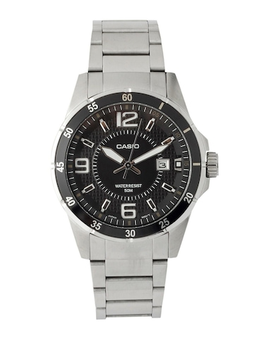 Casio Men Black Dial Watch A414