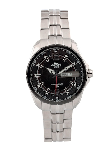7e7460816fb CASIO Edifice Men Black Dial Analogue Watch ED444 CASIO Watches available  at Myntra for Rs.
