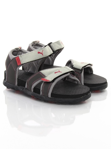 Puma Women Grey Techno Ind Sandals