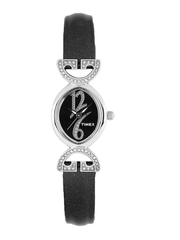 Timex Women Black Dial Watch