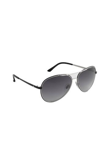 Louis Philippe Men Black Sunglasses