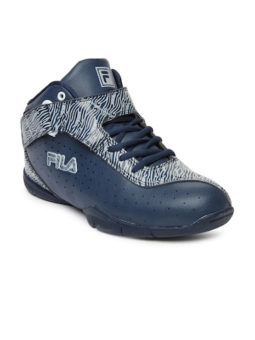 Fila Men Navy & White Win The Game Casual Shoes