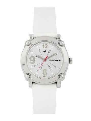 Fastrack Women Silver-Toned Dial Watch NE6027SL01