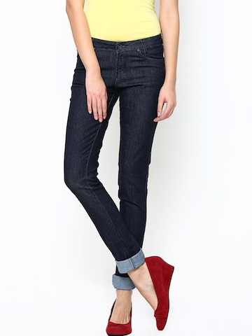 Xpose Women Navy Slim Fit Jeans at myntra