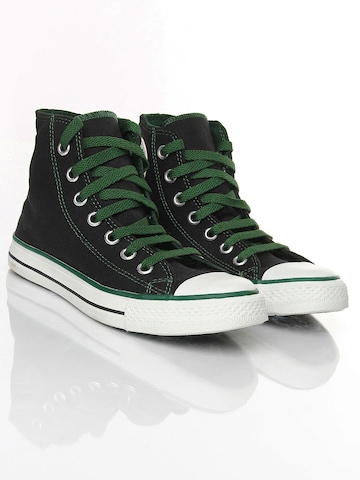 Converse Men Black CT Lace Color Hi Canvas Shoes