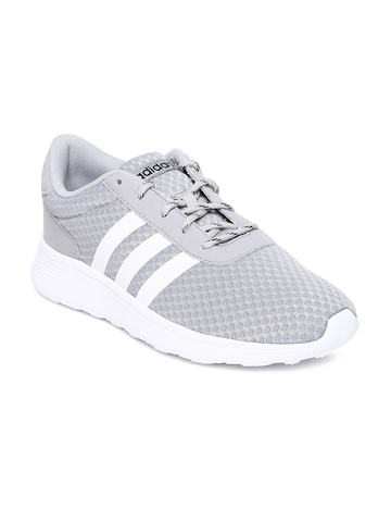 Adidas Neo Grey And White