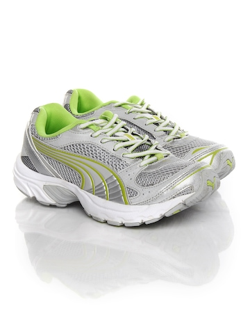 PUMA Women Grey Exsis Running Shoes