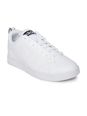 Adidas Neo Men White Advantage Vs Casual Shoes
