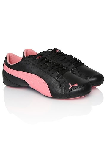 puma girls black janine dance casual shoes available at